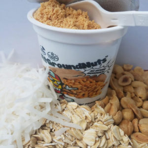 Peanut, Oat, and Coconut - Fit Ground Nuts